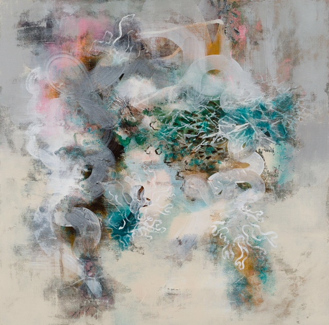 Abstract painting by Louise McClary